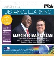 margin to mainstream - United States Distance Learning Association