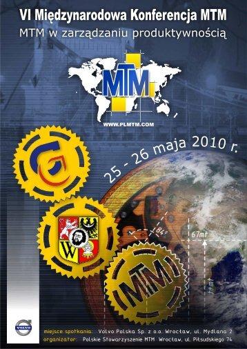 VI Międzynarodowa Konferencja MTM 2010 (informator PDF ...