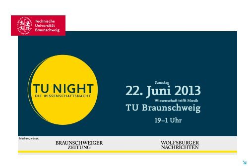 Programmheft - Technische Universität Braunschweig
