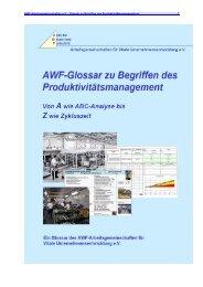 E - AWF Arbeitsgemeinschaften für Vitale ...