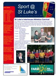 Issue 9 - St Luke's Anglican School
