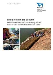 Erfolgreich in die Zukunft - WSD Mitte - Wasser- und ...
