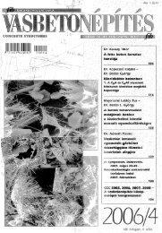 beton - a fib Magyar Tagozata honlapja