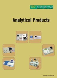 Analytical Products - Nvis