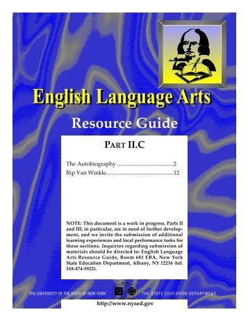 English Language Arts - p-12