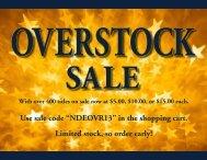 Overstock Sale 2013 - University of Notre Dame Press
