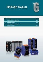 20120731 Ch6 PROFIBUS Products.indd - ICP DAS