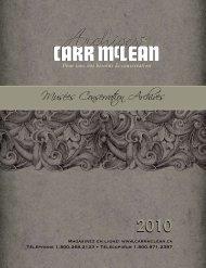 Musées Conservation Archives - CARR McLEAN