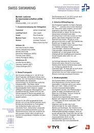 Bericht Junioren Europameisterschaften (JEM) 2012