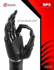 v2 myo-electric hand - SPS