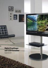 Digital-Empfänger und LCD-Fernseher - BELdigital