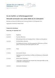 Programm (PDF) - Zentrum für Zeithistorische Forschung Potsdam