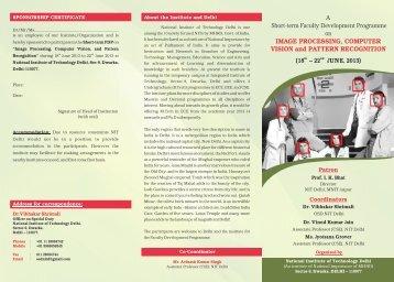 Brochure of short terms faculty program--2 Super final - National ...