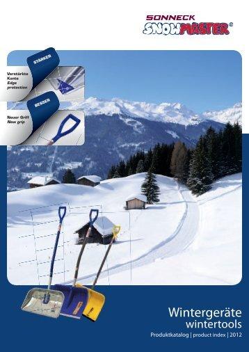 Snowmaster Katalog 2012 - Sonneck