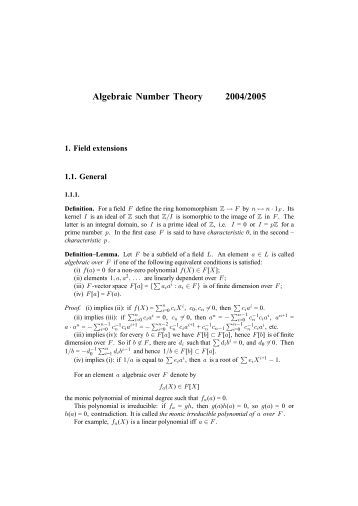 Algebraic Number Theory (Unknown 41).pdf - Index of