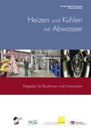 Heizen und Kühlen mit Abwasser - Deutsche Bundesstiftung Umwelt