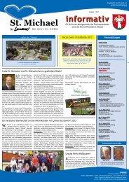Informativ Juli 2013 - Verein Wirtschaft St. Michael