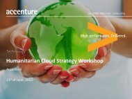 IT Strategy - Not for Profit - Cloud Strategy Roadmap Case