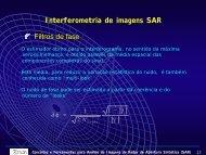 Interferometria de imagens SAR Filtros de fase - mtc-m19:80