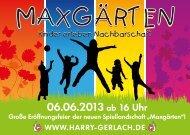 HGW - Maxgärten - Flyer - neu - Quartier Pankstrasse