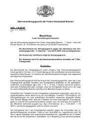 OVG 1 B 287/07 - Oberverwaltungsgericht Bremen