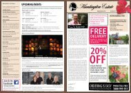 UPCOMING EVENTS - Huntington Estate Wines