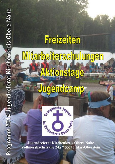 Jugendreferat Kirchenkreis Obere Nahe Vollmersbachstraße 24a ...