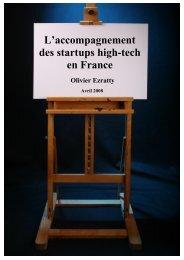Accompagnement des startups en France - Olivier Ezratty