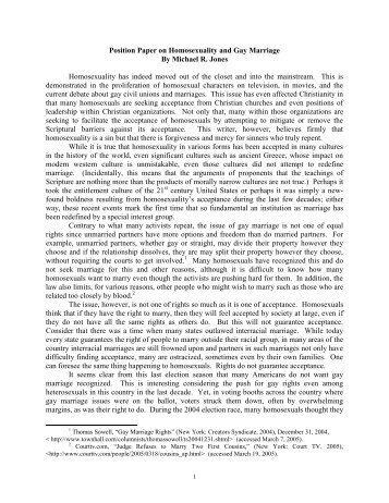 gay marriage position essay  research paper example same sex marriage essay  words  pages essay in sociology