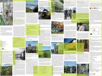 Fahrradtourenkarte - Bergische Entwicklungsagentur GmbH