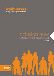 Northern Ireland Trailblazers Inclusion Now campaign.