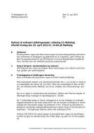 Referat 2013 - Greve Boligselskab