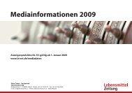 Mediainformationen 2009 - Isler Annoncen AG