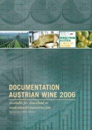 Documentation Austrian Wine 2006