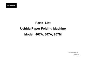uchida folding machine