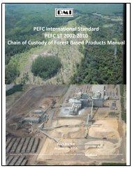 PEFC International Standard PEFC ST 2002:2010 Chain of Custody ...
