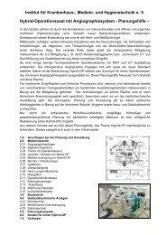 20.12.2013 Neue Planungshilfe Hybrid-OP
