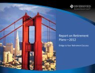 Report on Retirement Plans—2012 - BNA