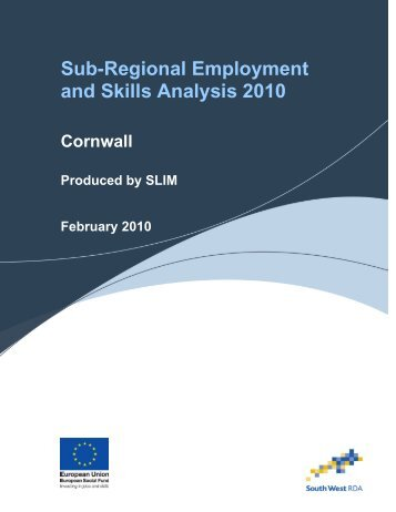 Cornwall - The Skills & Learning Intelligence Module