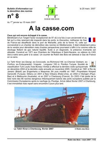 n° 8 A la casse.com - Robin des Bois