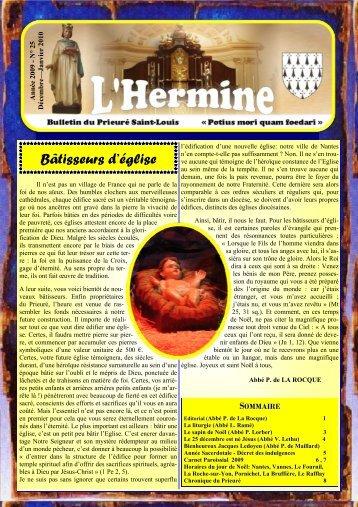 L'Hermine n° 25 - La Porte Latine