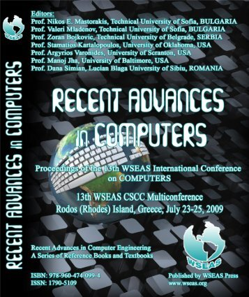 Recent Advances in Computers - Wseas.us