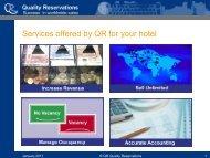 Folie 1 - Quality Reservations