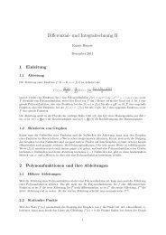 Differenzial- und Integralrechnung II - Rainer Hauser