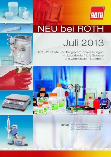 Juli 2013 - Carl Roth