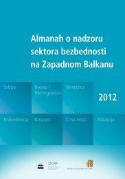 Almanah o nadzoru sektora bezbednosti 2012 na ... - QKSS