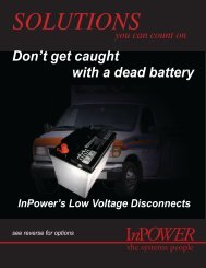 Low Voltage Disconnects - InPower Direct