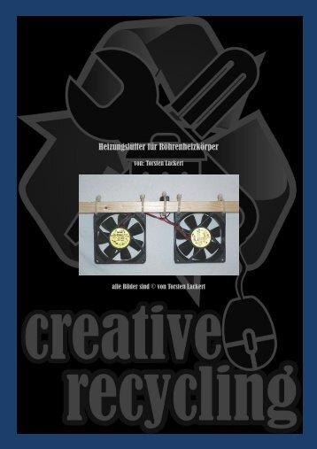 Heizungslüfter für Röhrenheizkörper - creative-recycling bei google+