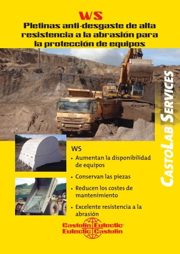 WS - Wear Strips ES.indd - Castolin Eutectic