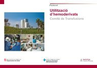 Libro de recetas - Hospital Universitari de Bellvitge